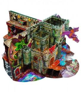 """Libro """"El castillo del terror"""" (escenarios fantásticos)"""