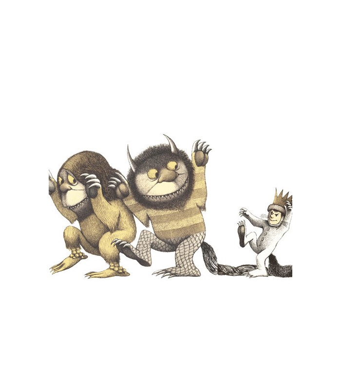 Libro Donde Viven Los Monstruos Porteofeliz