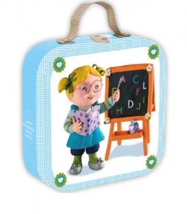 Maleta 4 Puzles - Lisa juega a ser maestra