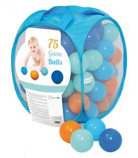 Bolas de plástico para jugar (75 u.)