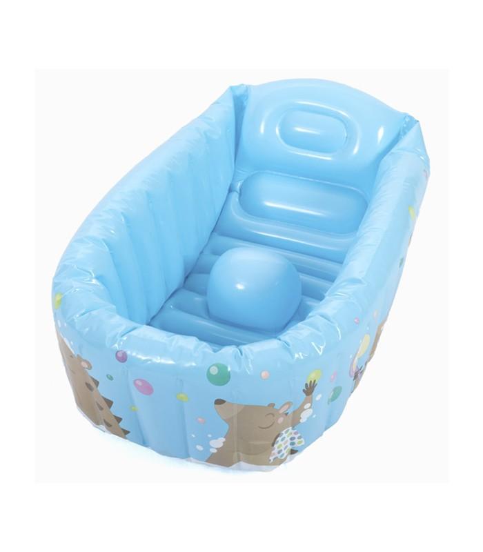 Ba era inflable con detector de temperatura porteofeliz - Temperatura agua bano bebe ...