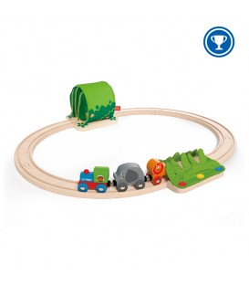 Juego Viaje de tren por la selva - Hape