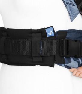 Fidella almohada para el cinturón de la cadera de mochilas ergonómicas