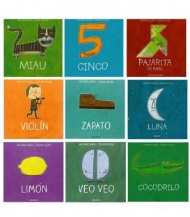 Libros Colección de cuna a la luna - Kalandraca
