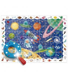 Puzzle + juego baby detective in space - Ludattica