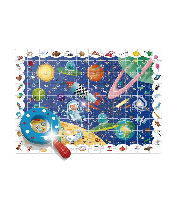 Puzle + juego baby detective in space - Ludattica - PorteoFeliz