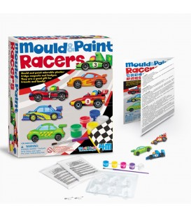 Kit manualidades hacer imanes coches de carreras