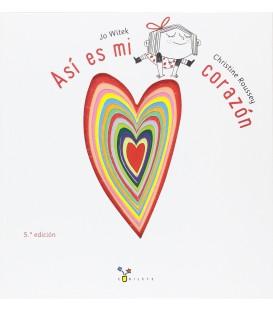"""Libro """"Así es mi corazón"""""""