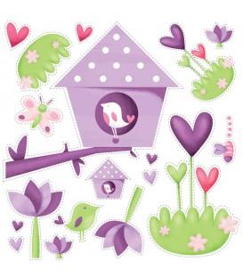 Stickers Secret Garden
