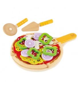 "Juguete comidita madera ""pizza casera"" - Hape"