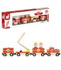 Tren de bomberos de madera story train - Janod