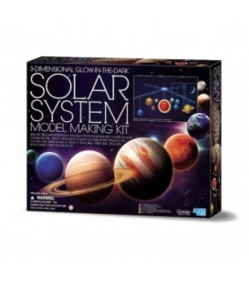 Movil 3D Sistema Solar - 4M