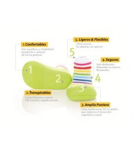 Zapatos Attipas Colección Rainbow