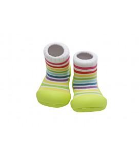 Zapatos Attipas Rainbow Verde