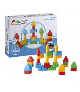 Juego de construcción arquitectura - Poly M