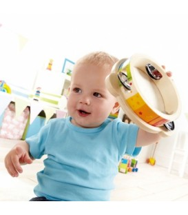 Pandereta infantil multicolor - Hape