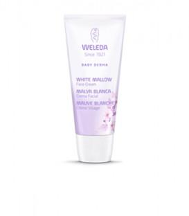 Crema facial Weleda de Malva blanca