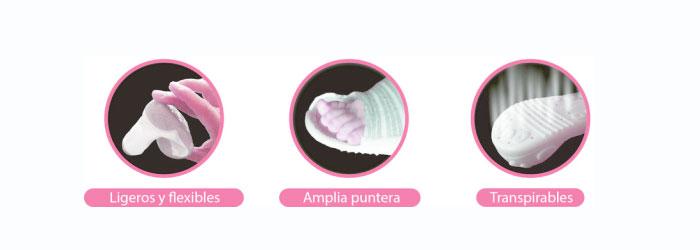 Características zapato Attipas
