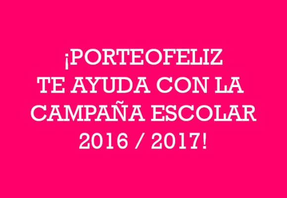 Campaña escolar 2016/17